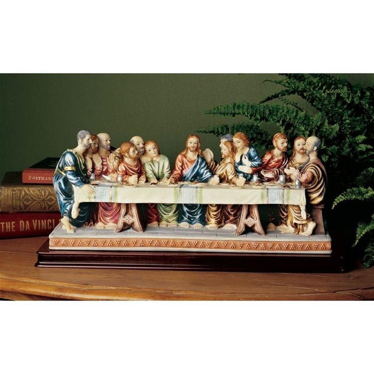 View larger image of The Last Supper Sculpture