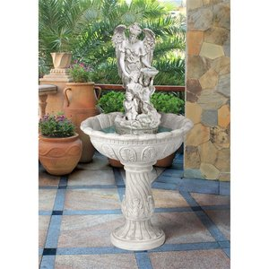 Heavenly Moments Angel Sculptural Fountain