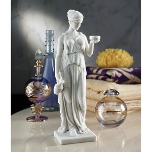 Hebe Goddess Youth Bonded Marble Statue