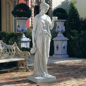 Hebe, the Goddess of Youth Sculpture: Estate