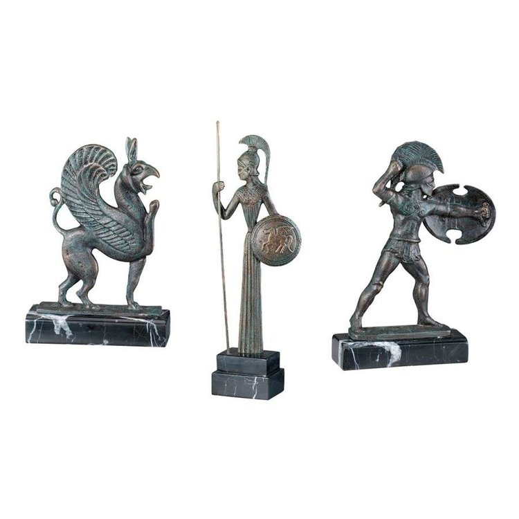 View larger image of Hellenistic Ironwork Sculptures: Set of Three
