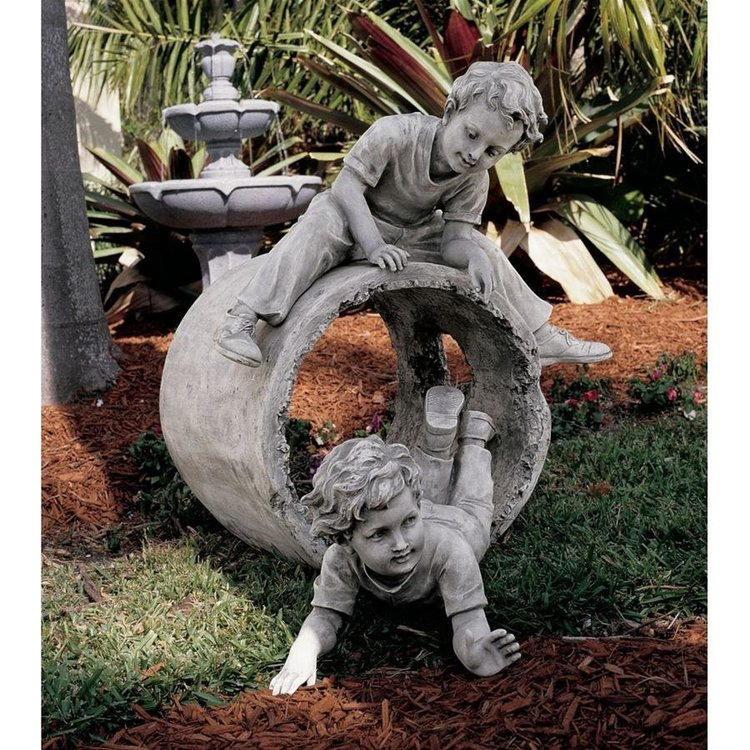 View larger image of Hide and Seek Garden Sculpture