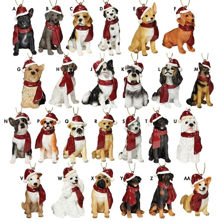 View larger image of Holiday Dog Ornaments Complete Set of 25