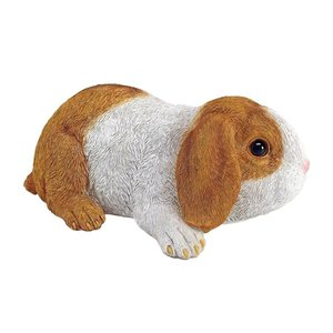 Holland Lop Eared Bunny Rabbit Statue