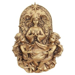 Holy Guardian Angels Wall Font Sculpture