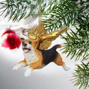 Honor the Pooch: Beagle Holiday Dog Angel Ornament