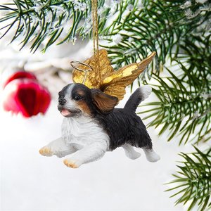 Honor the Pooch: Cavalier Holiday Dog Angel Ornament