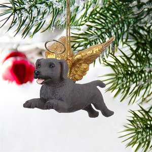 Honor the Pooch: Weimaraner Holiday Dog Angel Ornament