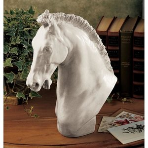 Horse of Turino Sculpture: Set of Two