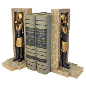 Horus Sculptural Bookends: Set of Two