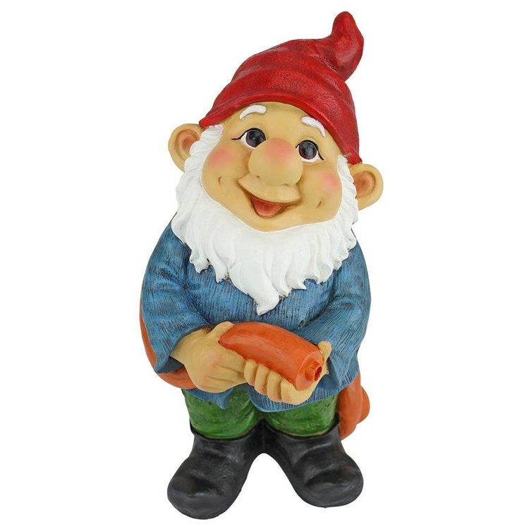 View larger image of Hose It Off Harry, Gnome Spitter Piped Statue