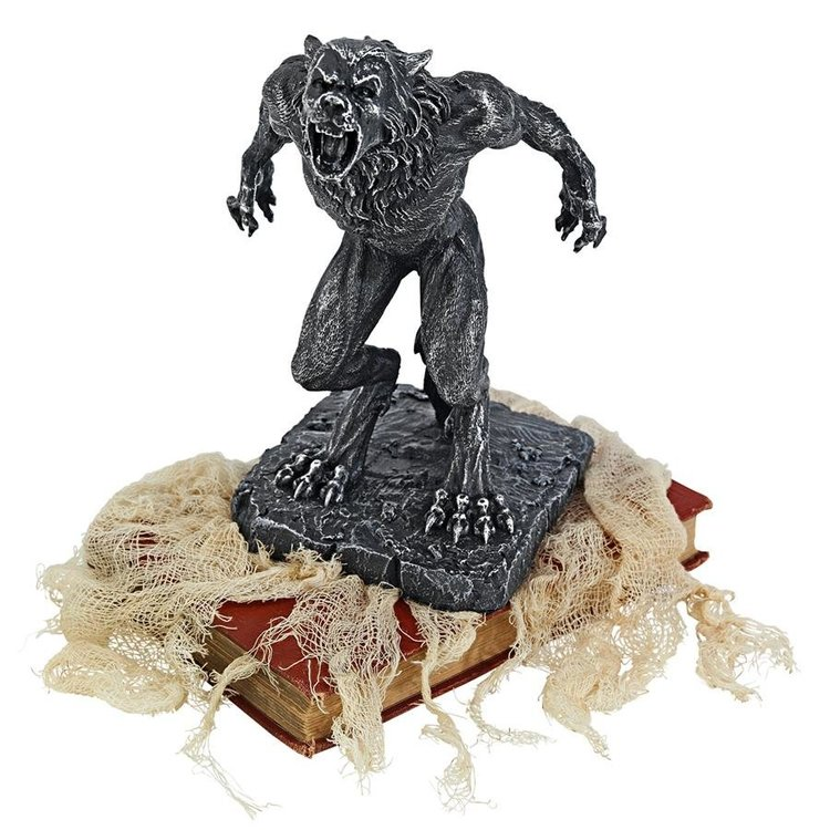 View larger image of Howl of the Werewolf Statue