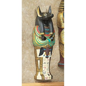 Icons of Ancient Egypt Wall Sculpture: Anubis