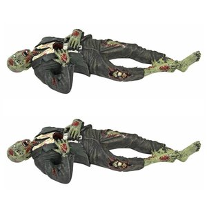 Impaled Zombie Desk Accessory: Set of Two