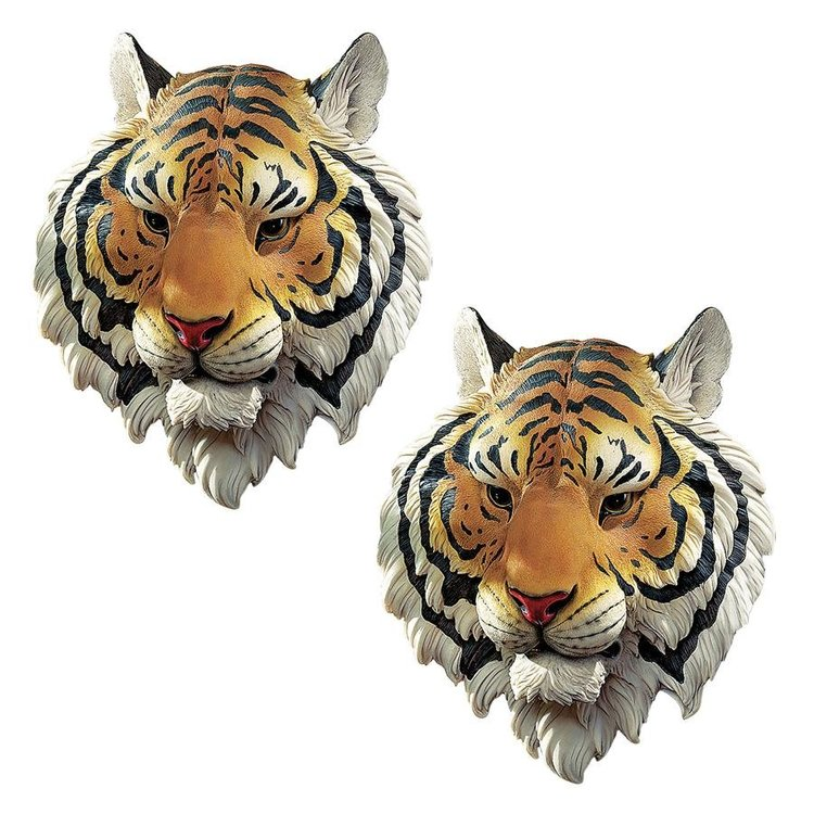 View larger image of Indochinese Tiger Wall Sculpture