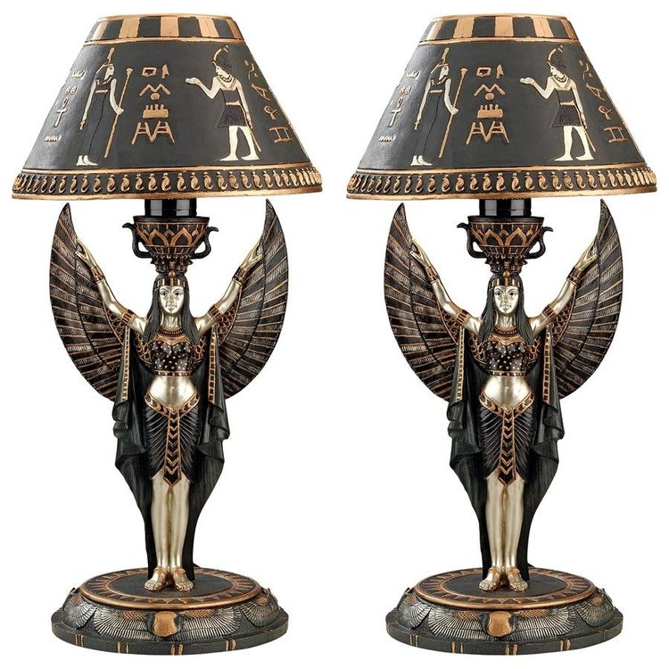 View larger image of Isis Sculptural Table Lamp: Set of Two