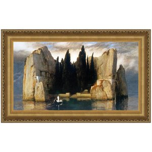 Island of the Dead (III) 1883: Canvas Replica Painting: Small
