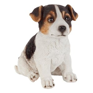 Jack Russell Terrier Puppy Partner Collectible Dog Statue