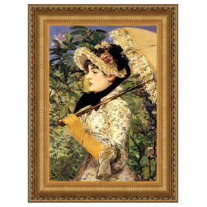 Jeanne: Spring, 1881: Canvas Replica Painting: Small