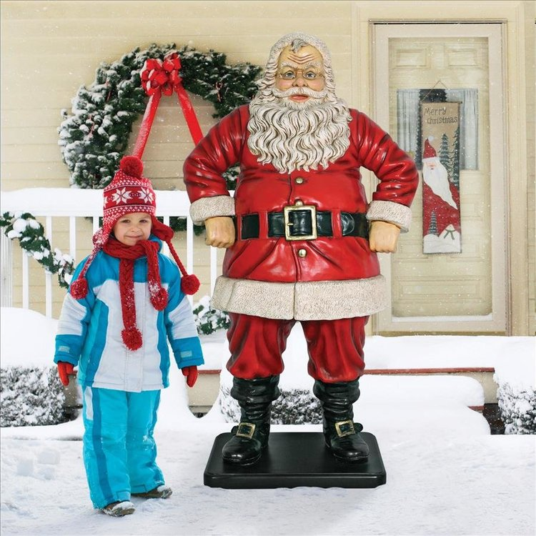 View larger image of Jolly Santa Claus Life-Size Statues