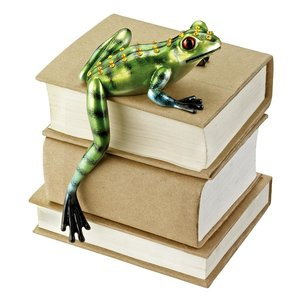 Jungle Forest Tree Frog Shelf Sitter: Set of Two