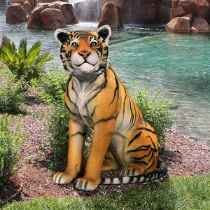 Jungle Giant Bengal Tiger Statue