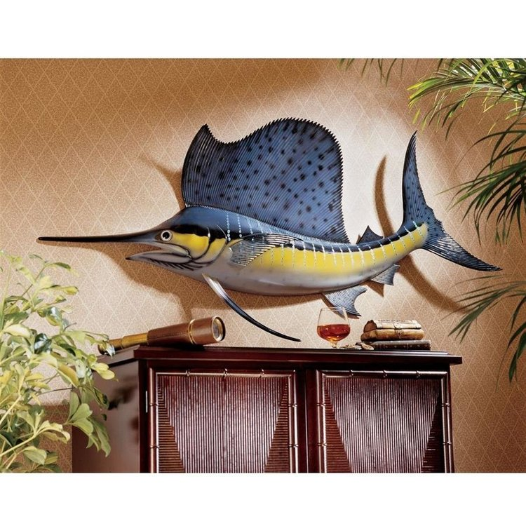 View larger image of Key West Sailfish Trophy Wall Sculpture