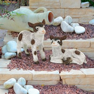 New Kids on the Farm Baby Goat Animal Statues: Set of Two