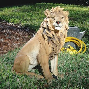 King of Beasts Lion Sculpture