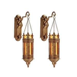 Kinnaird Castle Hanging Pendant Wall Sconce:  Set of Two