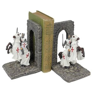 Knights of the Digital Realm Sculptural Bookends