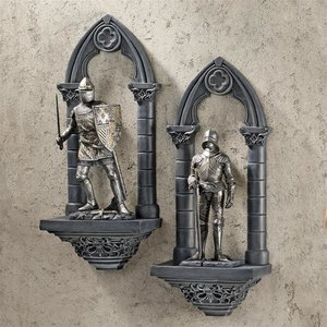 Knights of the Realm Wall Sculptures