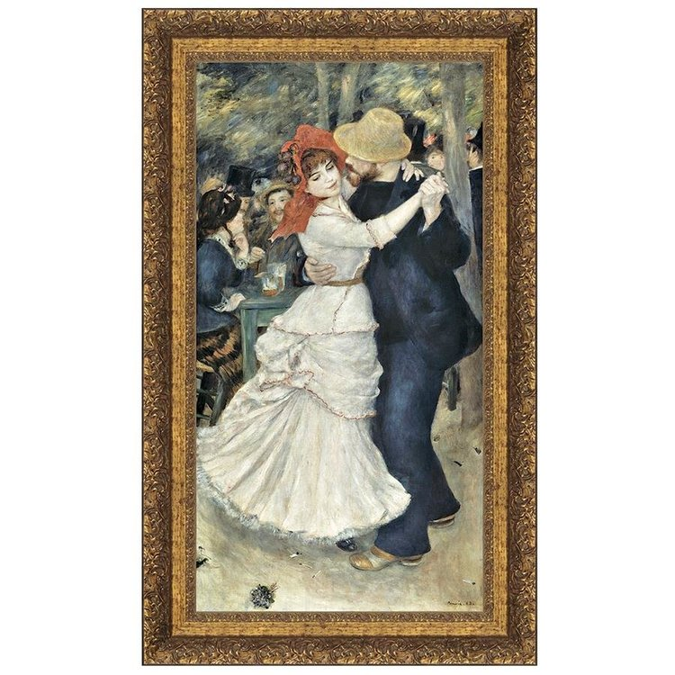 View larger image of La Danse a Bougival, Canvas Replica Painting: Small