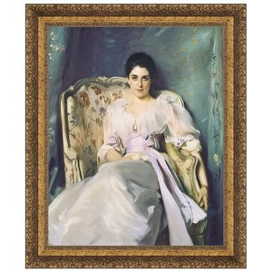 Lady Agnew of Lochnaw, 1893: Canvas Replica Painting: Grande