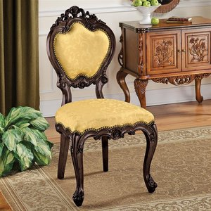 Lady Ambrose Shield Back Accent Chair