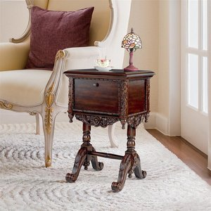 Lady Rebecca Victorian Bedside Table