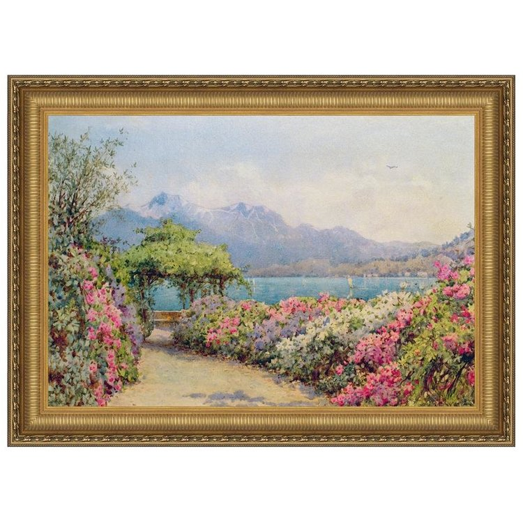 View larger image of Lake Como from the Villa, Canvas Replica Painting: Large