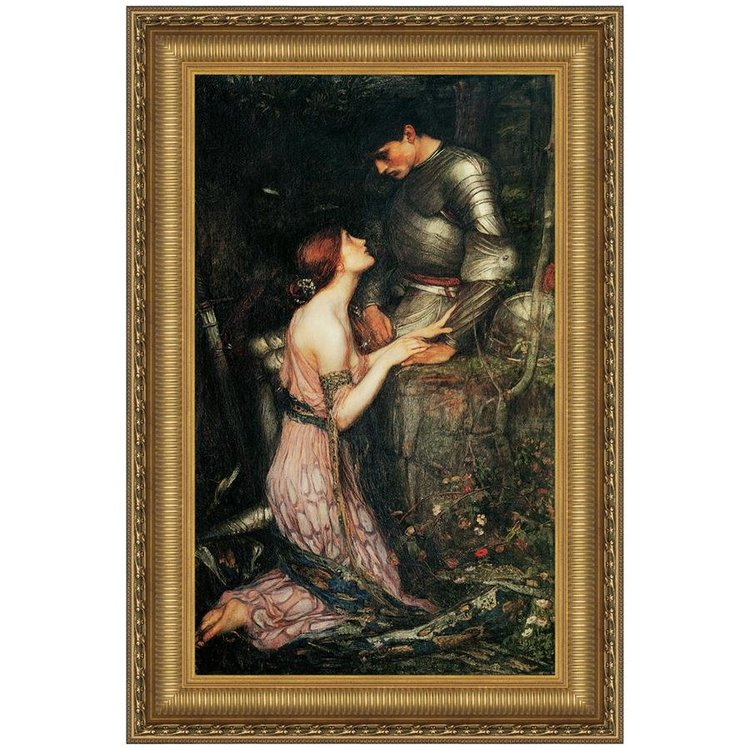 View larger image of Lamia, 1905: Canvas Replica Painting