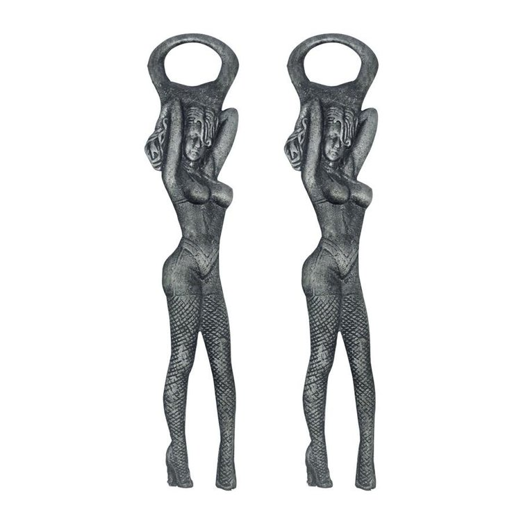 View larger image of Las Vegas Showgirl Cast Iron Bottle Opener: Set of Two