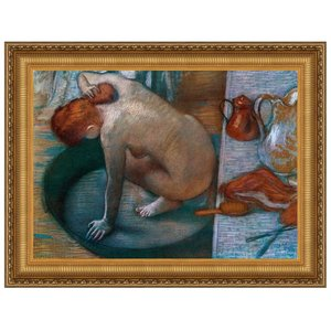 Le Tub, 1886: Canvas Replica Painting: Small