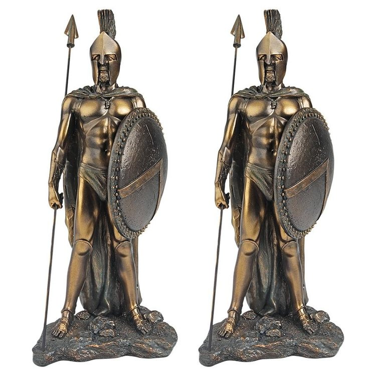 View larger image of Legendary Spartan Warrior Statue: Set of Two