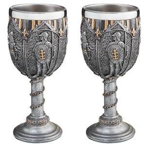 Legion of the King's Knights Royal Gothic Goblet: Set of Two