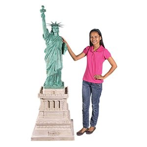 Liberty Enlightening the World Grand-Scale Statue on Pedestal