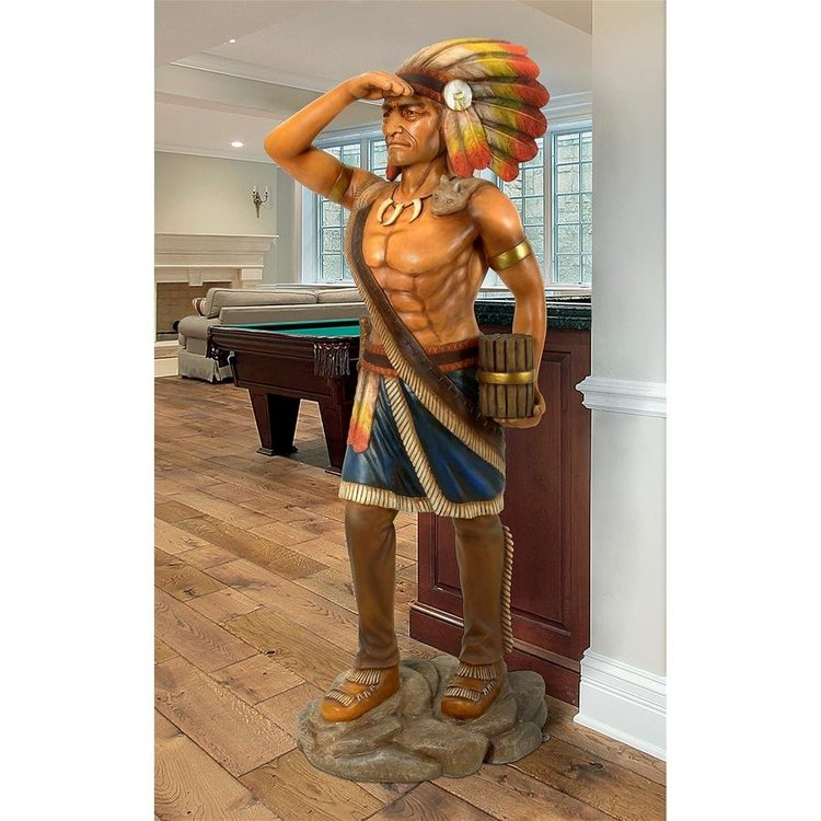 View larger image of Cigar Store Indian Tobacconist Statue