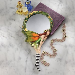 Lochloy House Fairy Looking Glass Hand Mirror