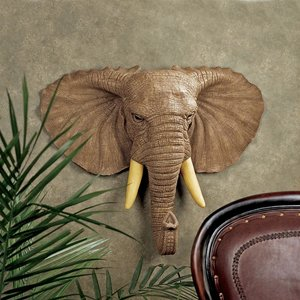 Lord Houghton Elephant Wall Sculpture