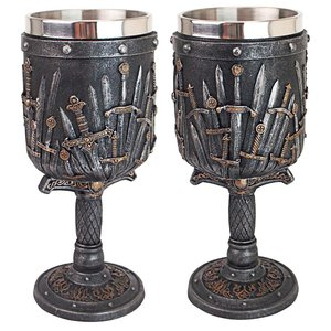 Lord of the Swords Gothic Goblet: Set of Two