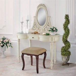 Mademoiselle Madelyn French Vanity Dressing Table
