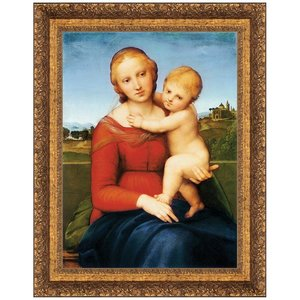 Madonna and Child (The Cowper Madonna), 155: Canvas Replica Painting: Grande