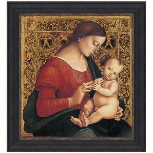 Madonna Child Canvas Painting Small